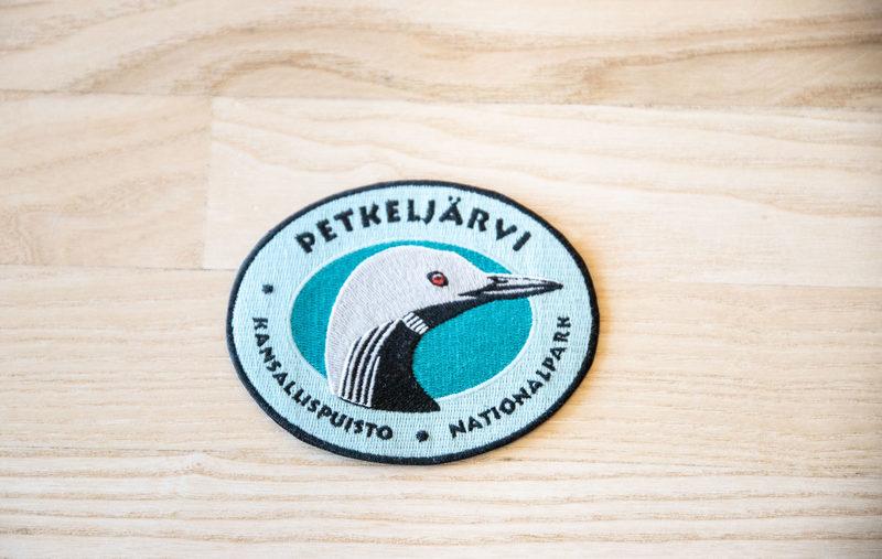 Kansallispuistomerkki - Petkeljärvi