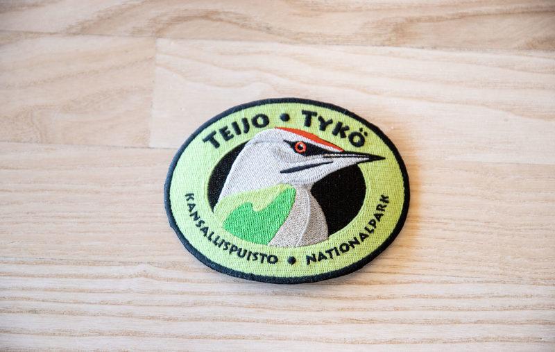 Kansallispuistomerkki - Teijo