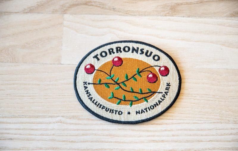 Kansallispuistomerkki - Torronsuo