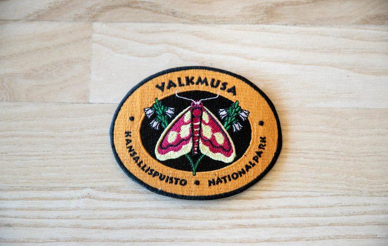 Kansallispuistomerkki - Valkmusa