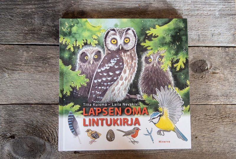 Lapsen oma lintukirja