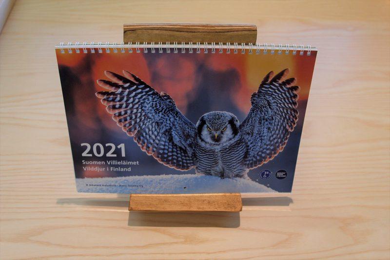 Suomen Villieläimet -kalenteri 2021