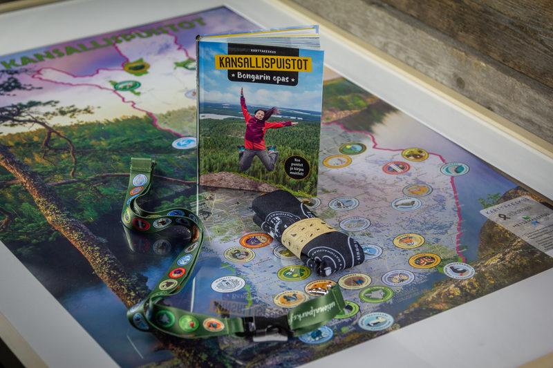 Kansallispuistobongarin paketti