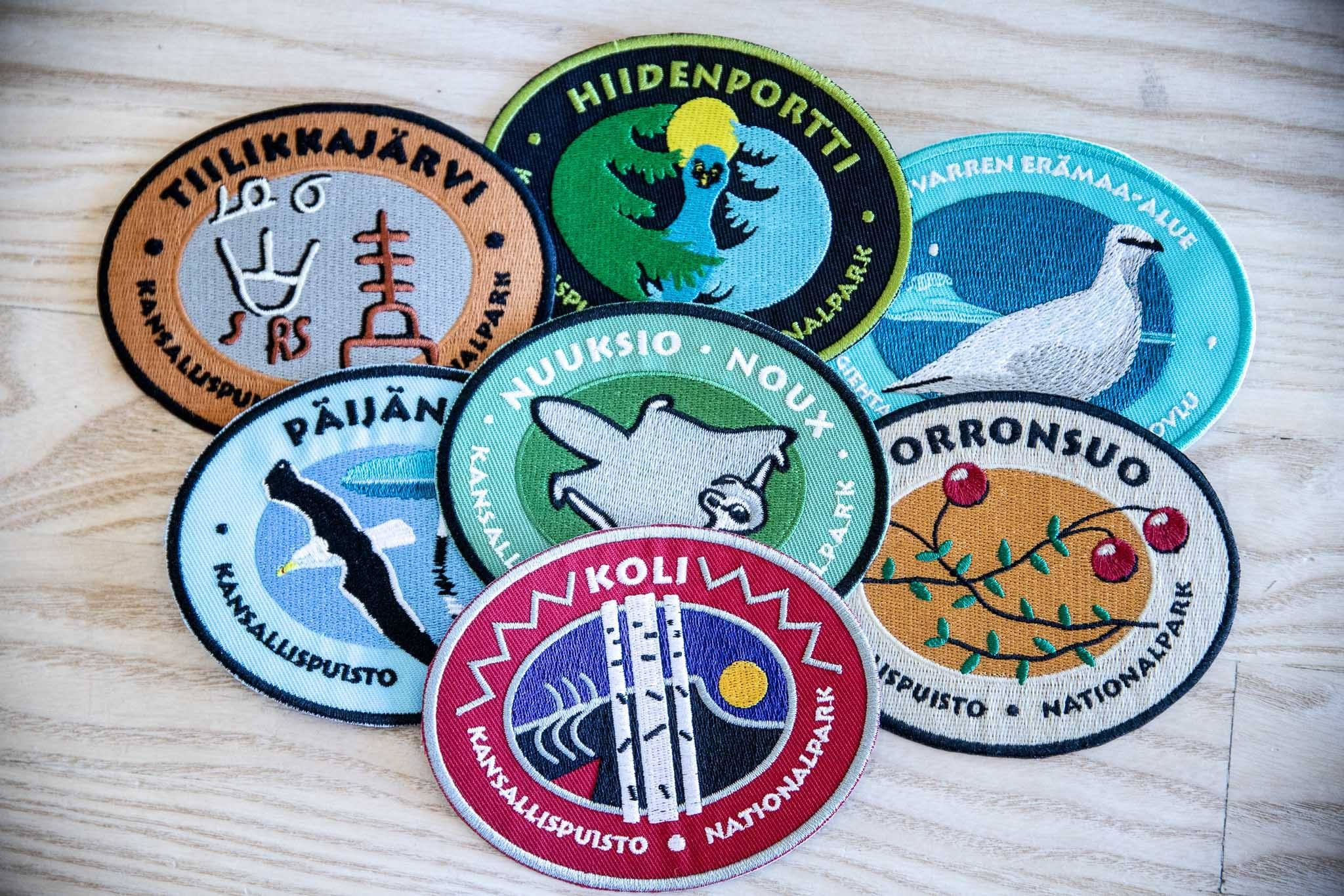 National park badges