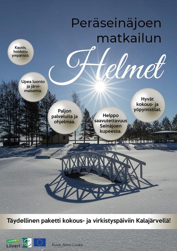 Peräseinäjoen Helmet kokous-esite