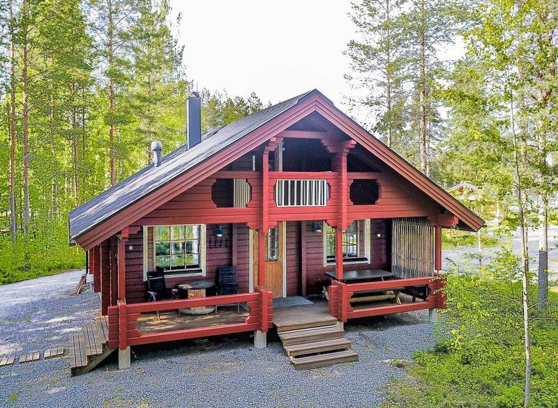KUHA COTTAGE (at the Kalajärvi recreation area, for 6)