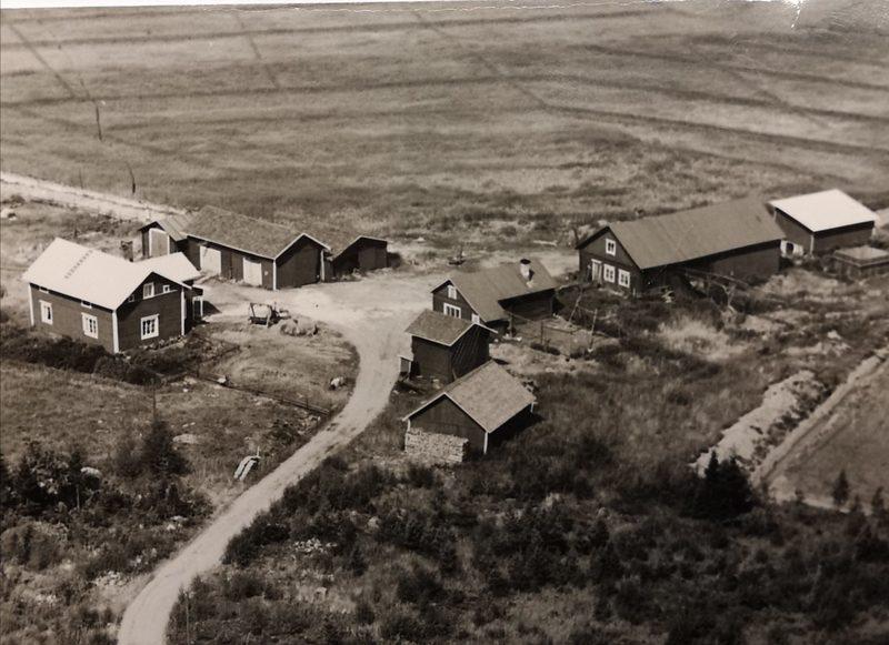 Ilomäen maatila ennenvanhaa 60-luvulla