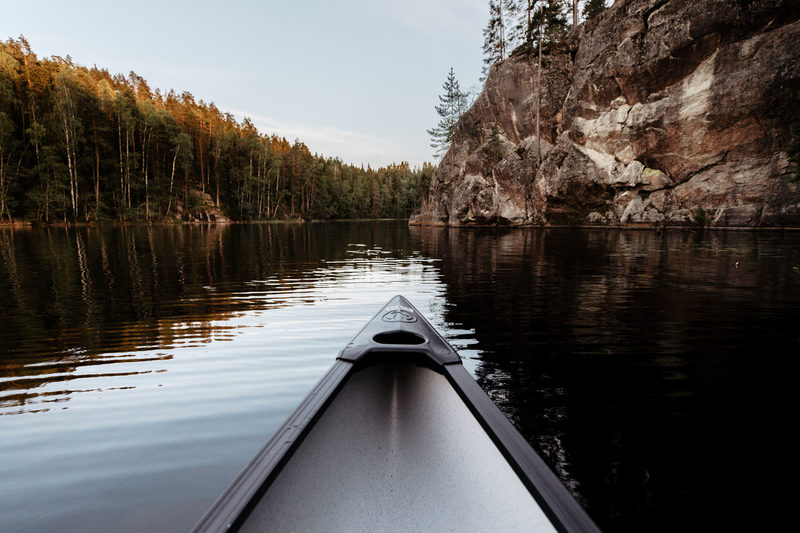 Nuuksio Canoe and Hike Adventure