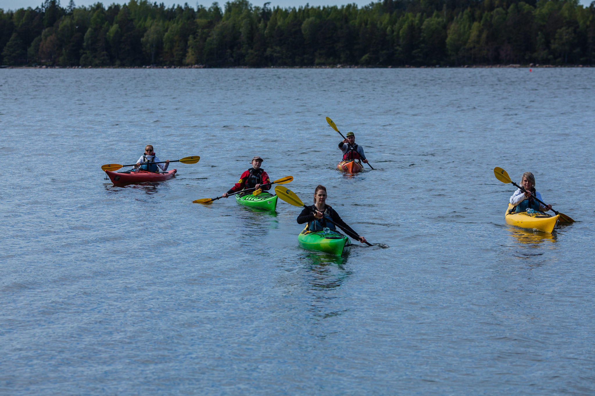 Kayak tours at Vuosaari Paddling Center