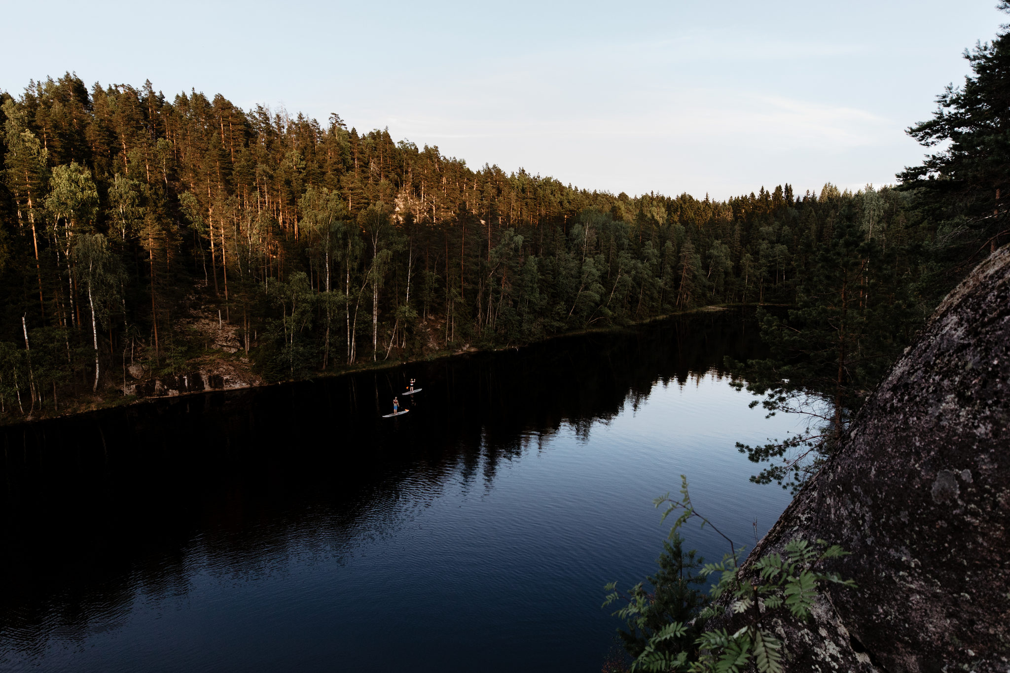 Canoe tours in Nuuksio National Park