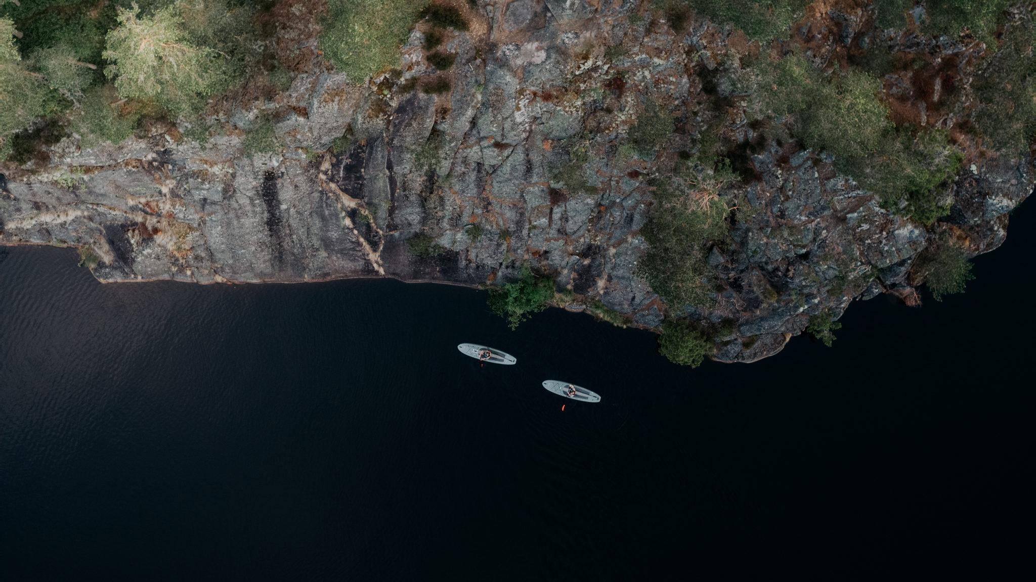 SUP-retket Nuuksion kansallispuistossa
