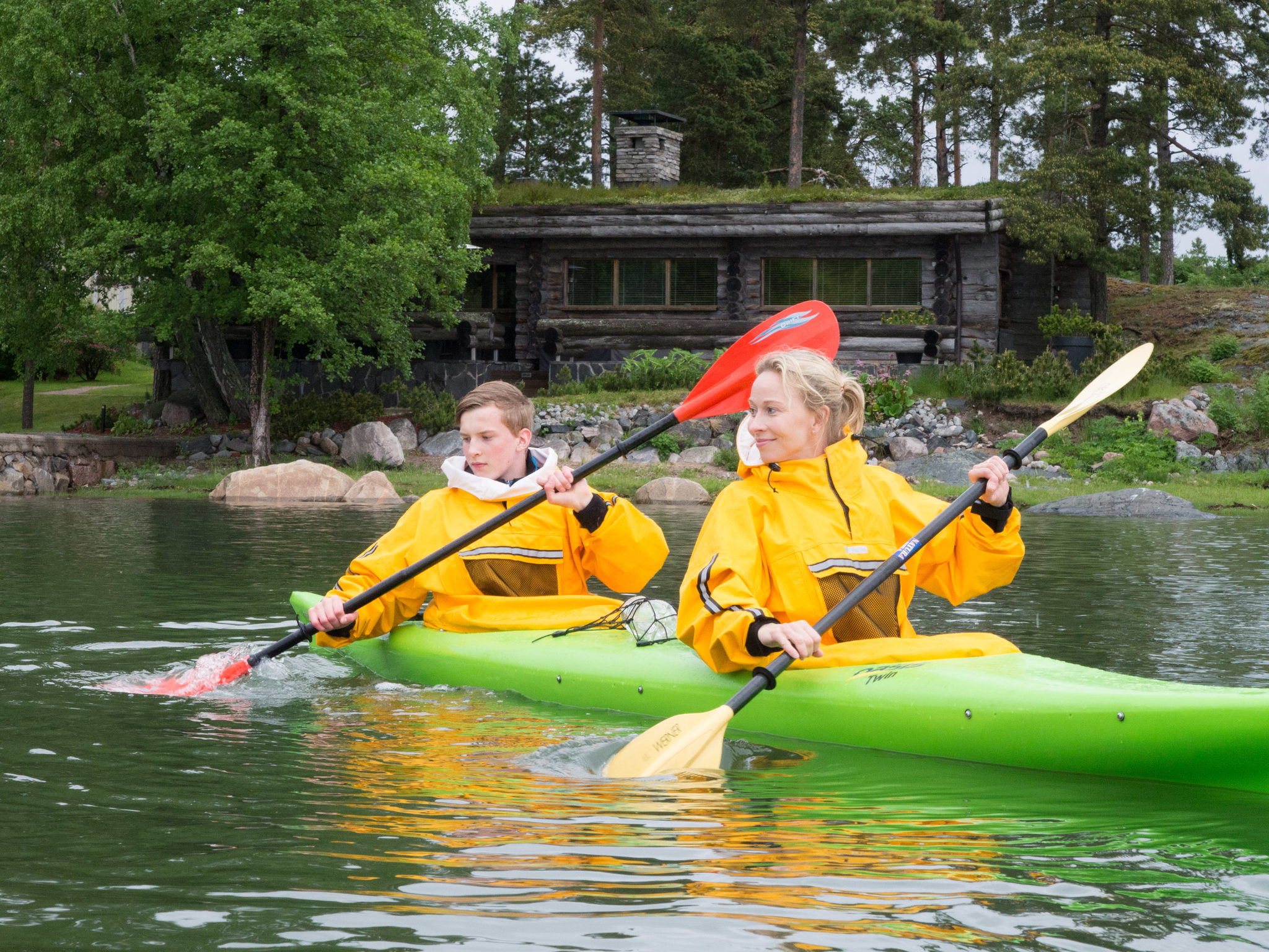 Standard Double Kayak at Vuosaari Paddling Center
