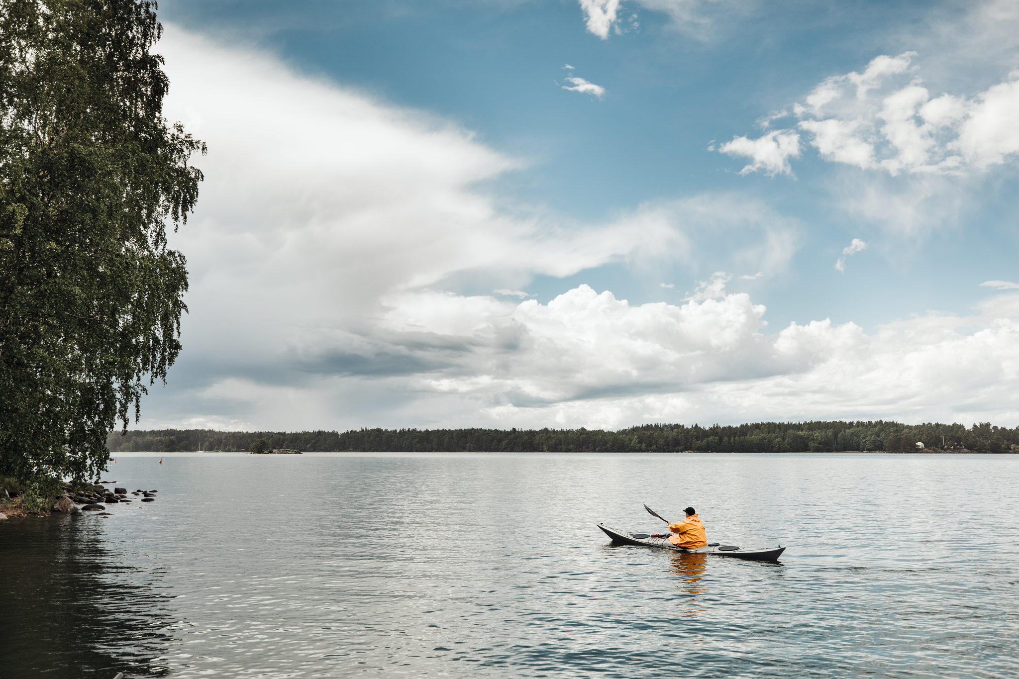 Touring and sea kayaks at Vuosaari Paddling Center