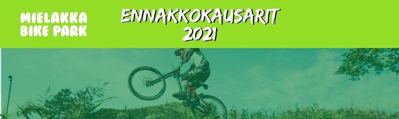 Bikepark 2021 ennakkokausari