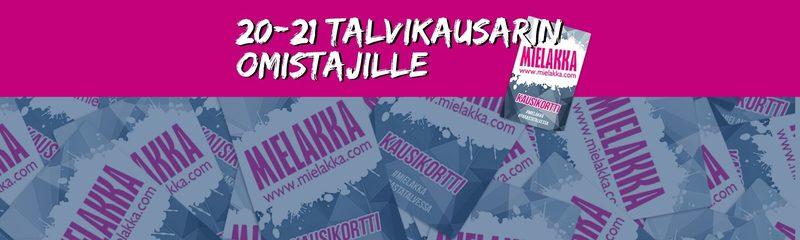 21/22 ennakkokausikortti viime kauden kausarin omistajille