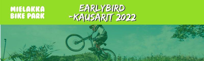 Bikepark Earlybird 2022 kausikortti