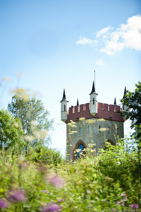 Temple in Svartå Manor