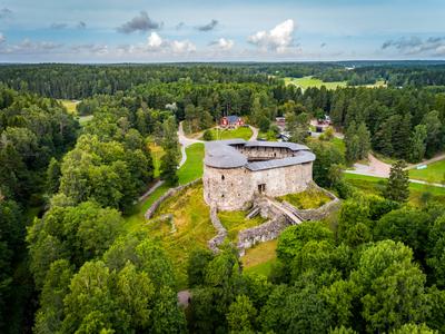 Raseborg Castle ruin
