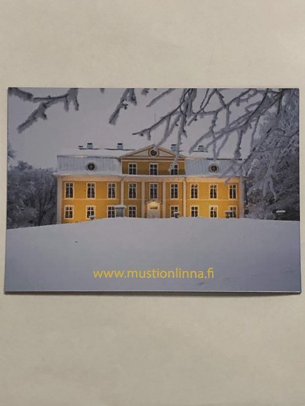 Mustio Manor- Magnet with a Winter scenery