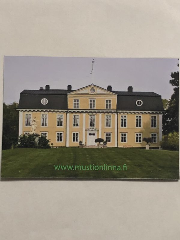 Mustio Manor- Magnet with a Summer scenery