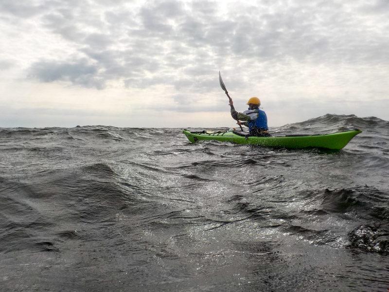 Technique sea kayaking course 1