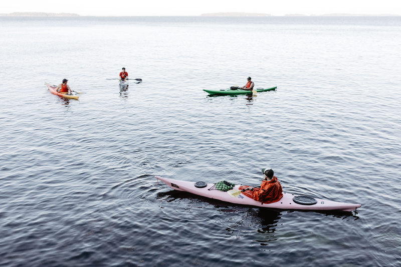 Sea kayak and wildcamp in Helsinki