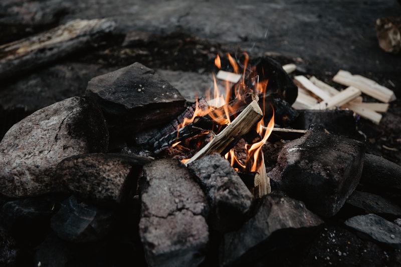 Private Nuuksio Short Walk and Campfire