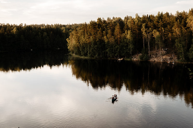 Canoe and hike in Nuuksio National Park