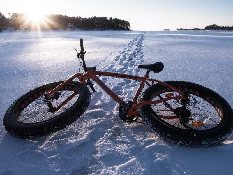 Helsinki Winter Fatbike