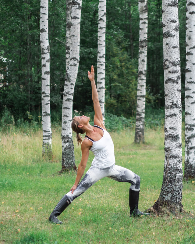Forest Yoga in Nuuksio