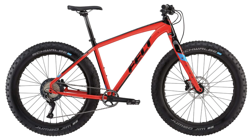 Felt DD30 Fatbike 2019- käytetty, M-koko
