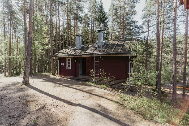 Matildanjärven sauna