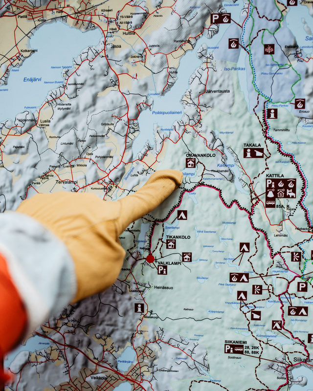 How to get to Nuuksio National park