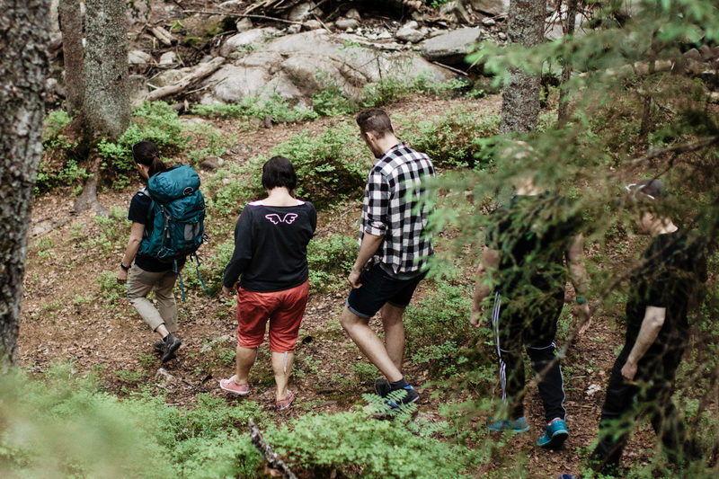 Hiking in Nuuksio