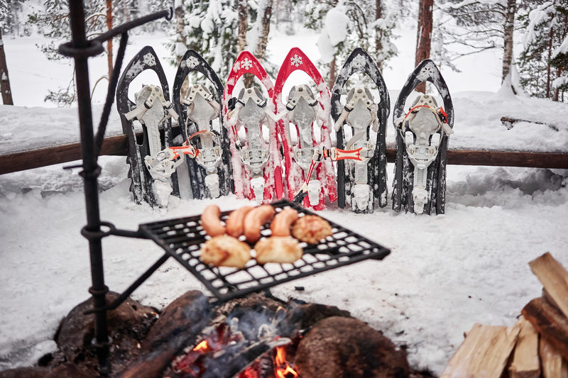 Snowshoe rental in Espoo