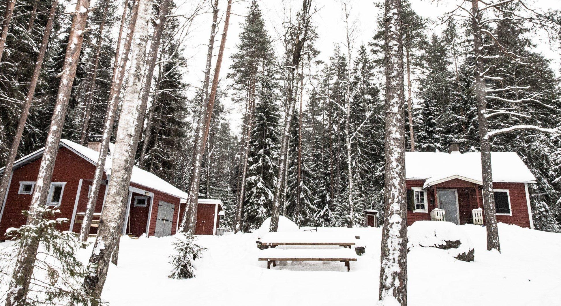 Majoituskohteet Etelä-Suomessa