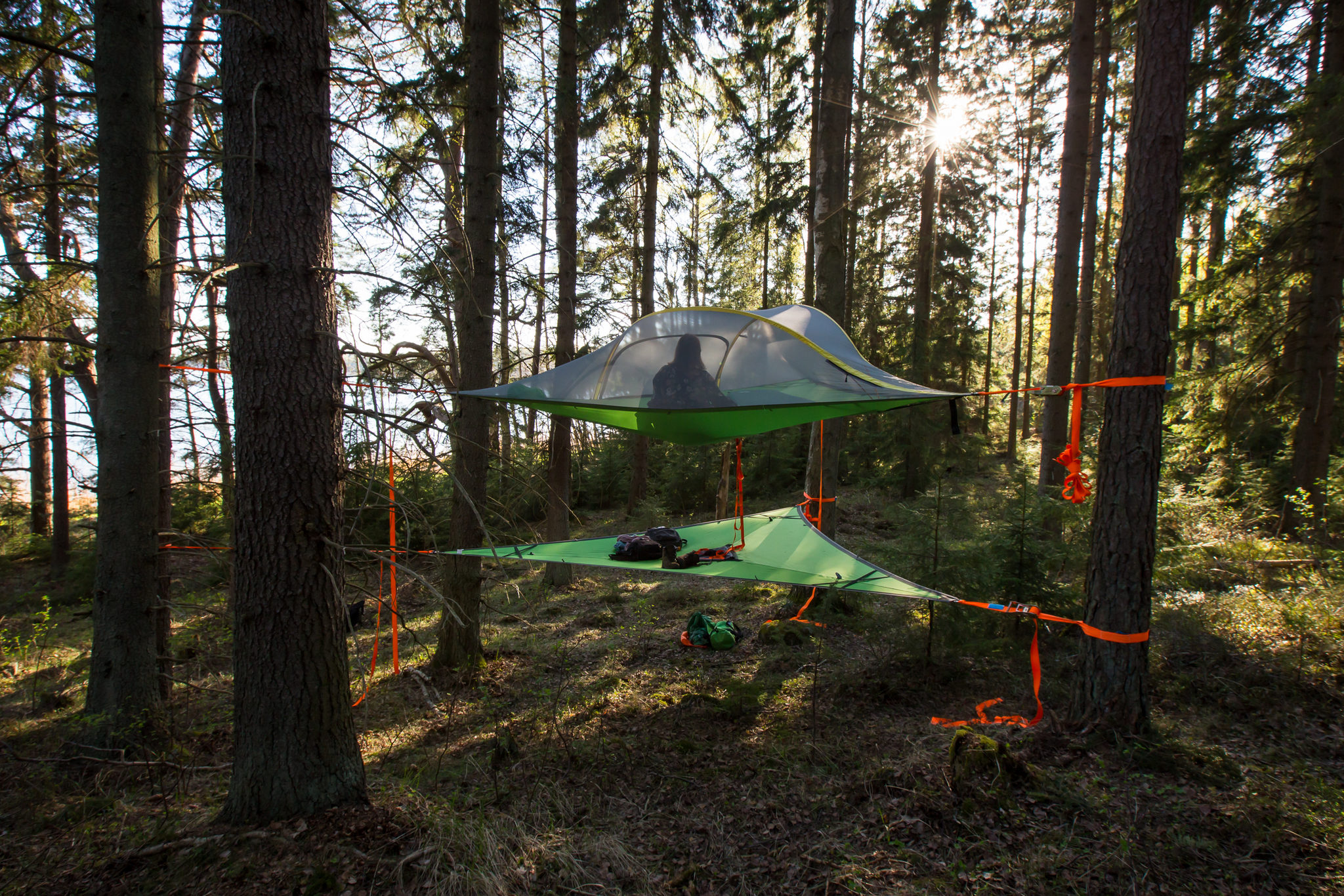 Skytent Ecocamp Söderlångvik - NaturEffect
