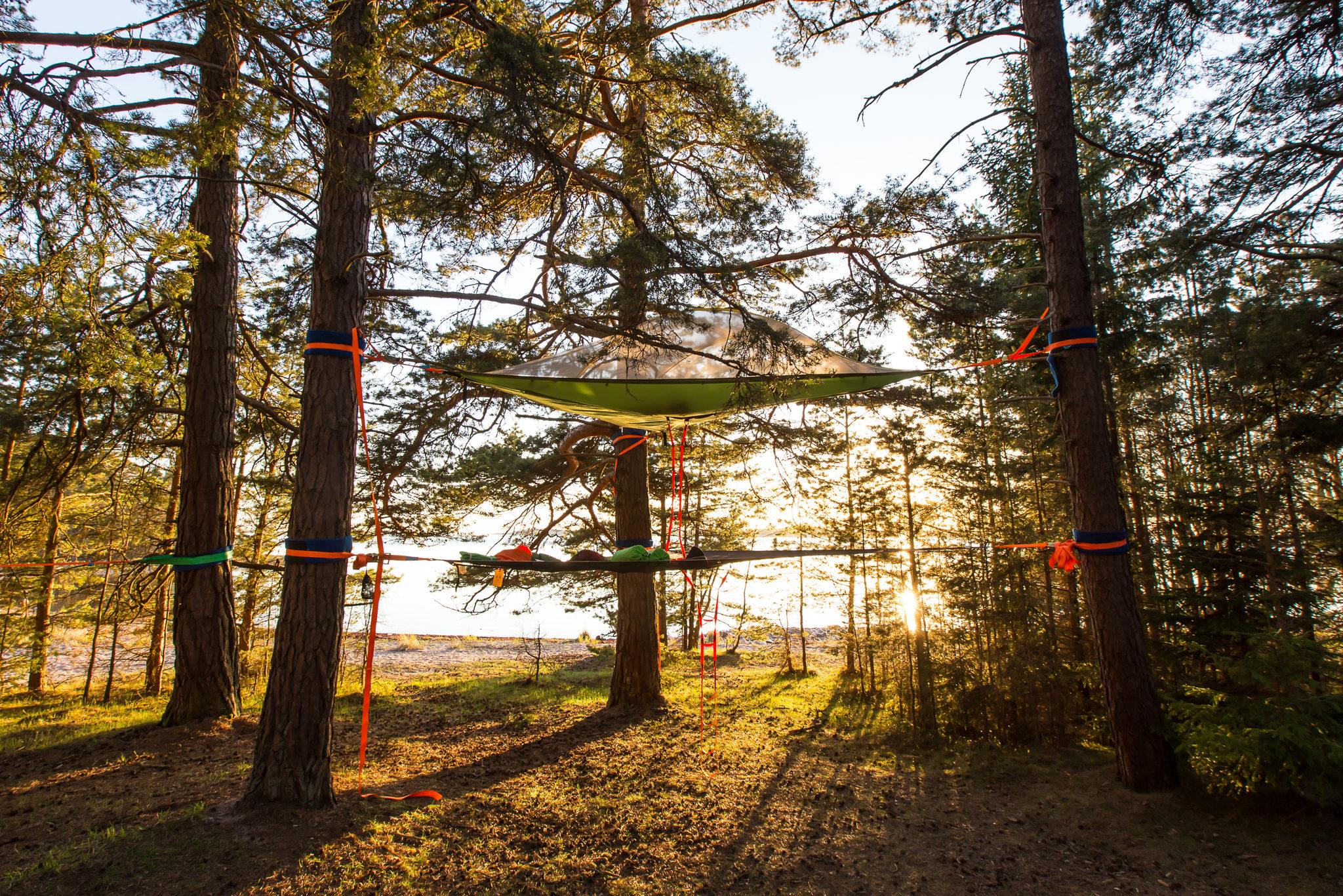 Skytent Ecocamp Högsåra - NaturEffect