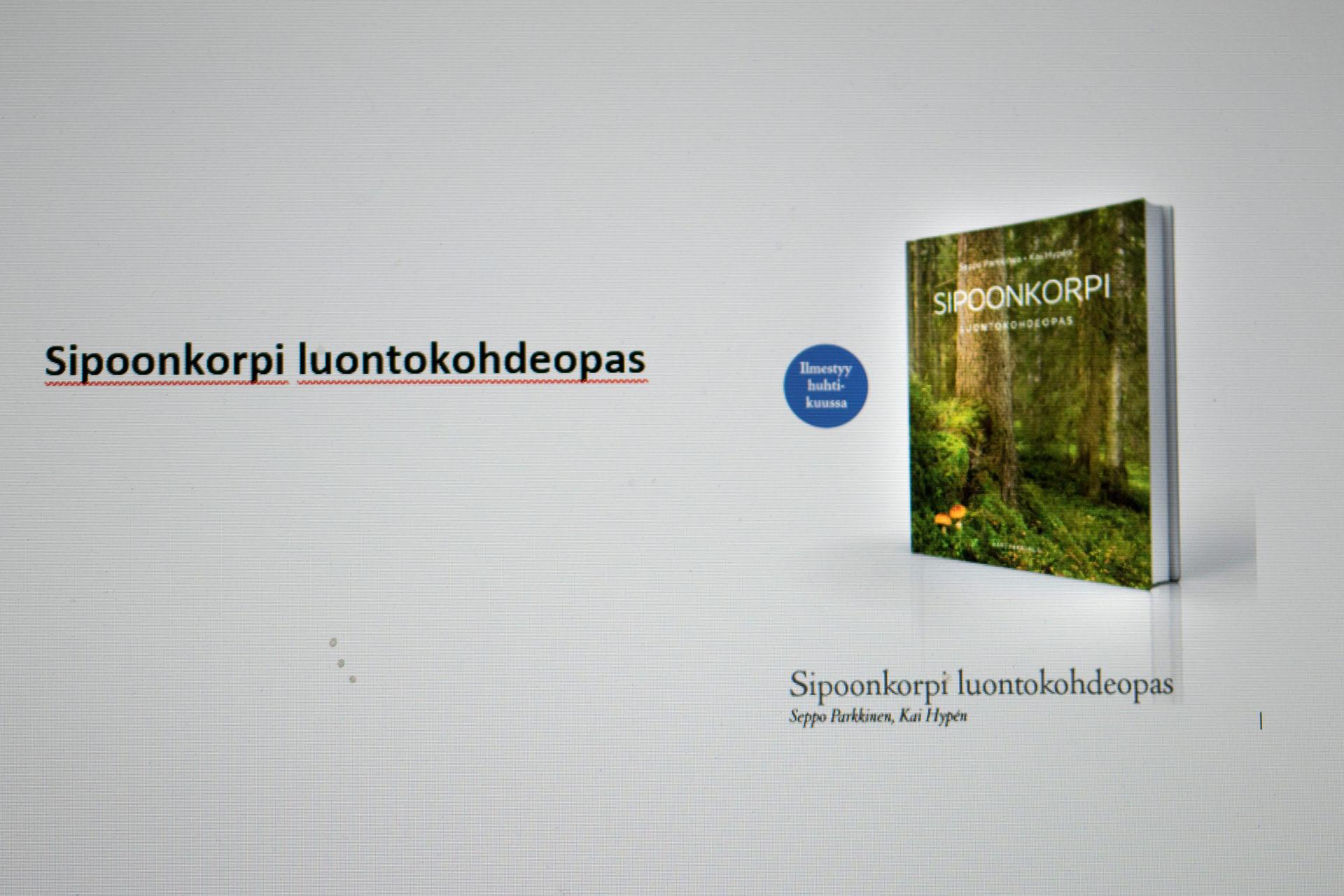 Sipoonkorpi luontokohdeopas, ennakkotilaus