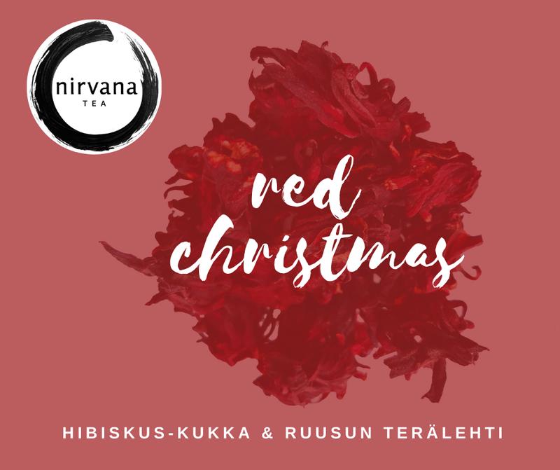Red Christmas - Hibiskus & ruusu