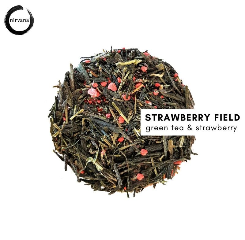 STRAWBERRY FIELD mansikka sencha