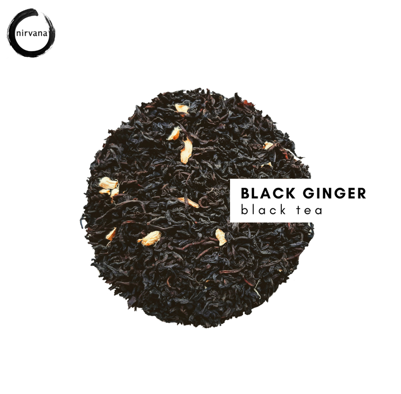 BLACK GINGER musta tee
