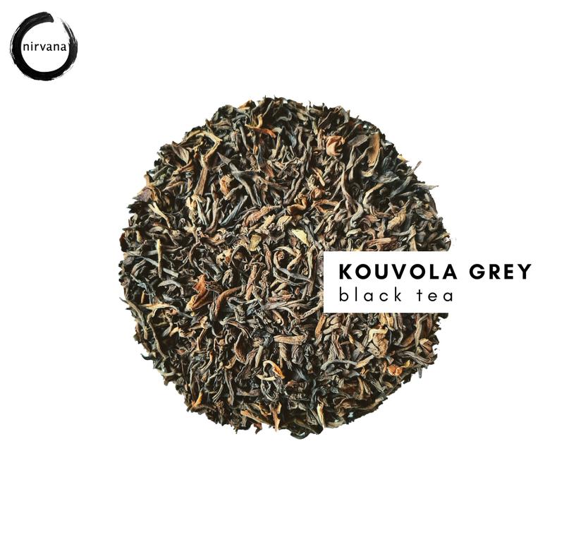 KOUVOLA GREY musta tee & lakritsi