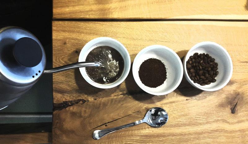 Kahvin maistelu - Coffee Cupping