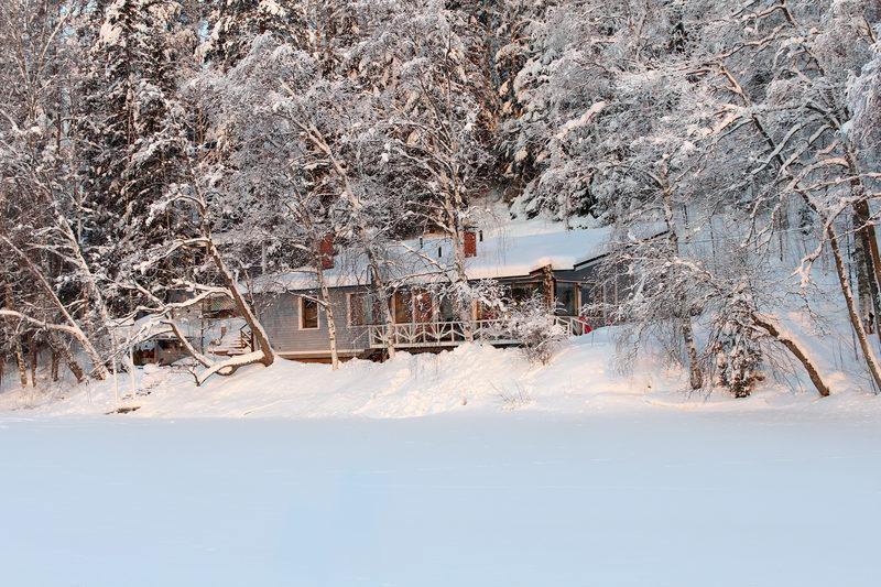 Winter in Villa Paratiisi