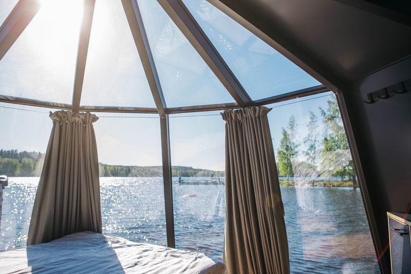 Järvinäköala panoraama ikkunoista