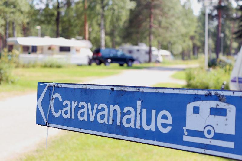 Karavaanaripaikka (ei karavaanarikorttia)