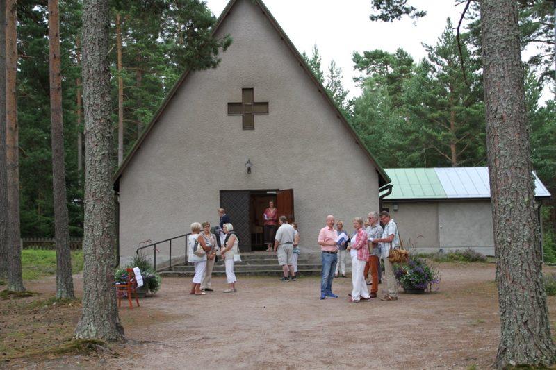 "Nr 3. La. 3.8 kl.19.00 Pyhän Olavin kappeli ""Auringonlasku"""