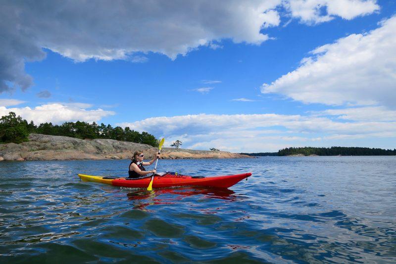 Kajakpaddling (3 h) i Sjundeå eller Esbo