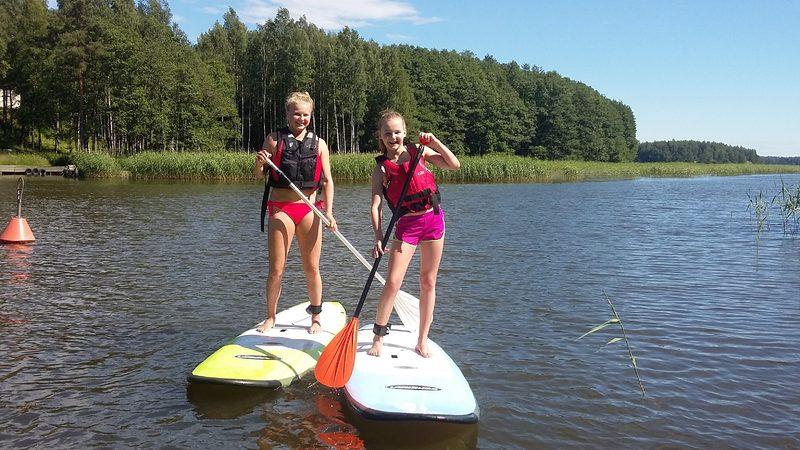 SUP-paddling (2 h) i Sjundeå eller Esbo